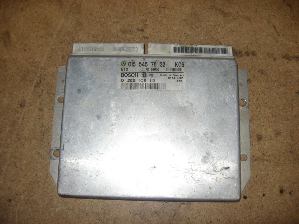 Блок управления ETS   A0155457632,0265106113