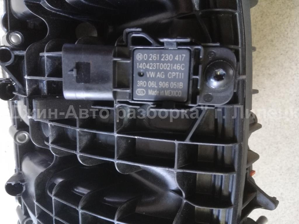 Датчик абсолютного давления впускного коллектора Volkswagen Passat (B7) 2011> 2014г. (OEM 06l906051b)
