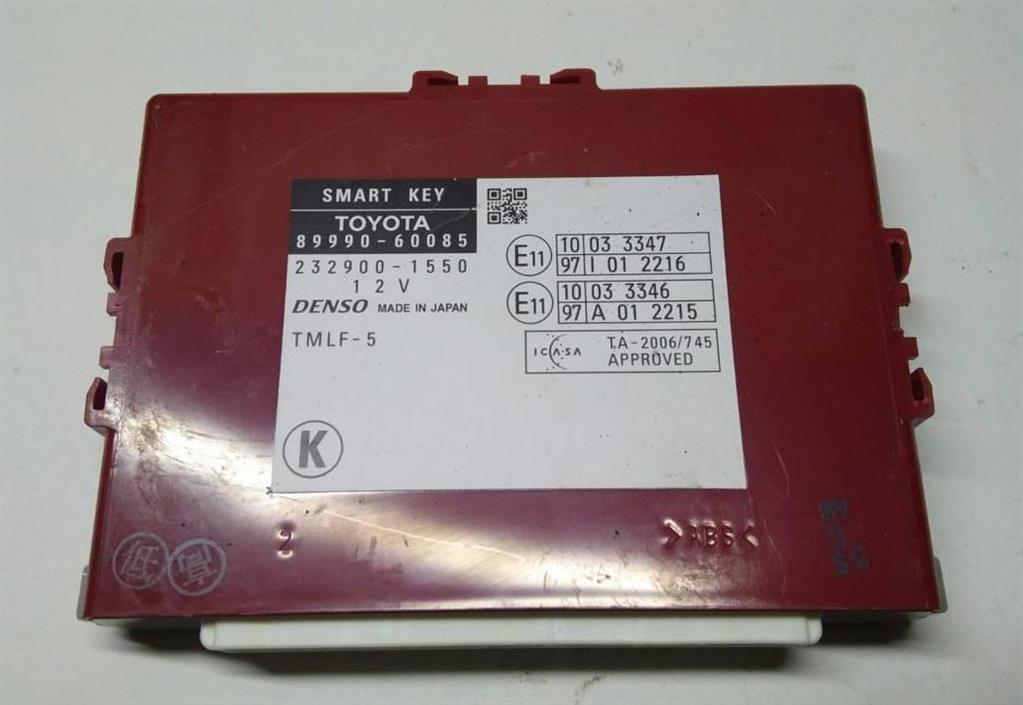 Блок управления бесключевым доступом   Номер по каталогу: 89990-60085, совместимые:  8999060085,89990-60085